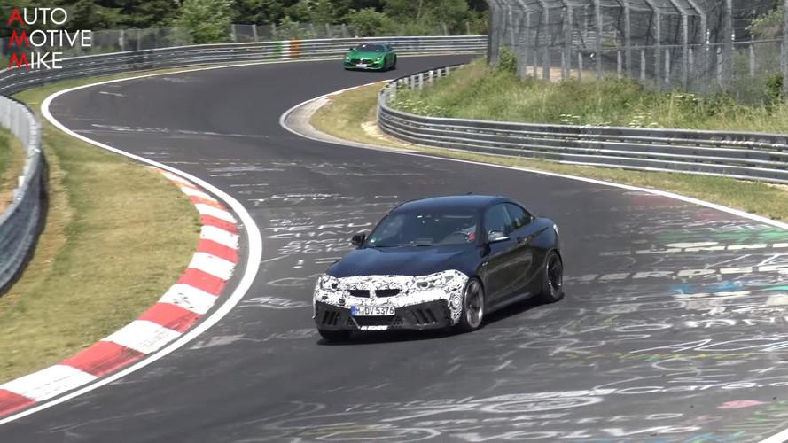 VIDÉO - La future BMW M2 CS en séance d'essais musclée sur le Nürburgring !