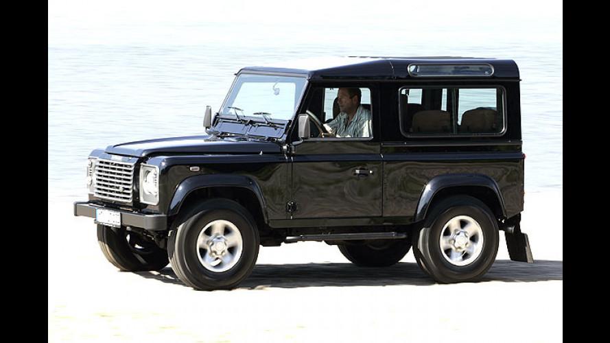 Land Rover Defender Limited: Sondermodell auf der IAA