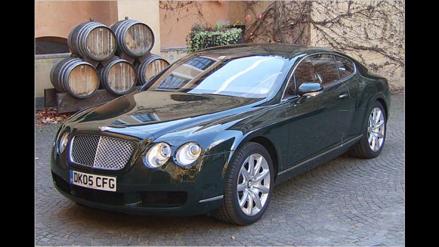 Das große Coupé Bentley Continental GT im Test