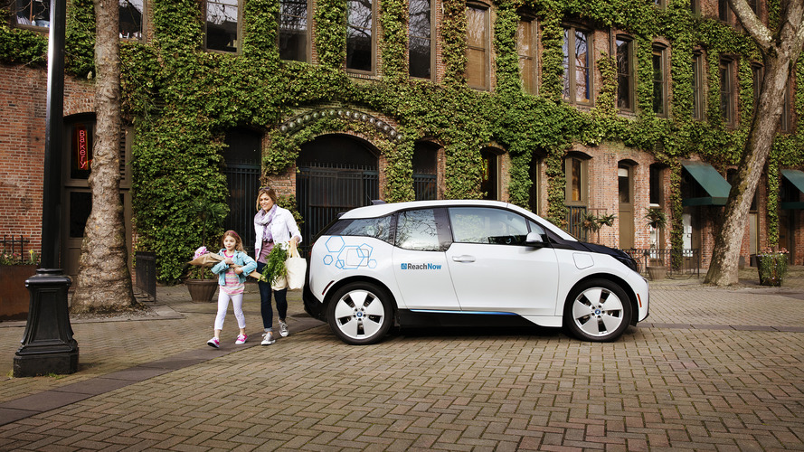 BMW launches ReachNow car-sharing service in Seattle