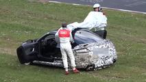 Audi TT RS prototype crash