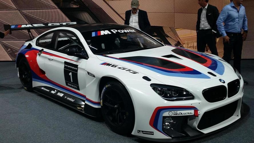 BMW M6 GT3 revealed in Frankfurt prior to racing debut next year