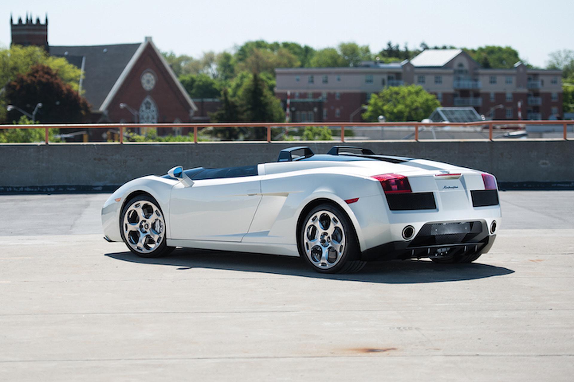 Rare Lamborghini Concept to Be Auctioned in New York