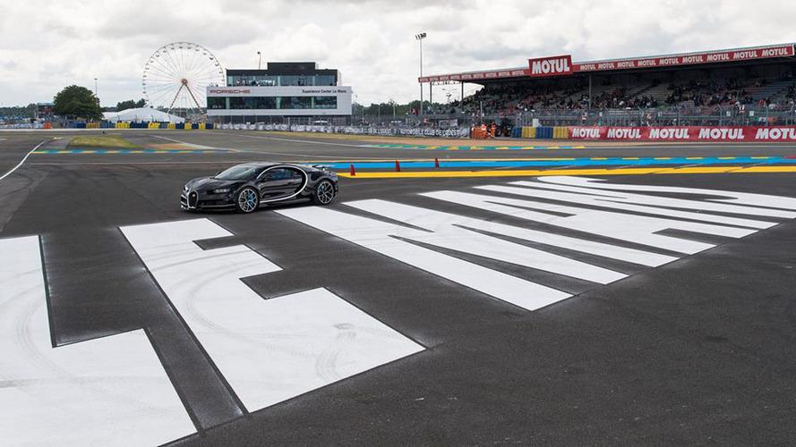 La Bugatti Chiron plus rapide que les LMP1 sur le circuit de la Sarthe