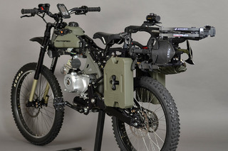 Outpace the Apocalypse with this Motoped Survival Bike