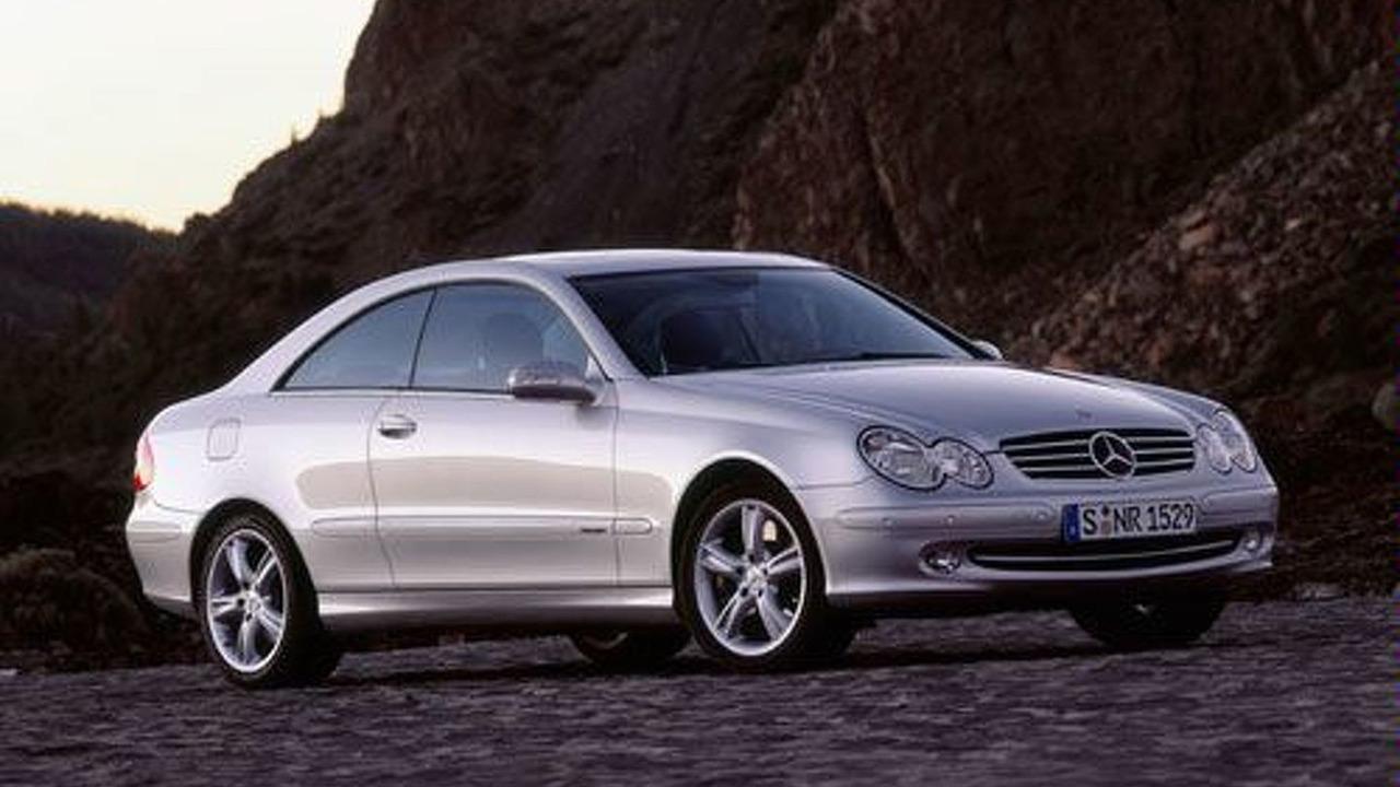 New Mercedes-Benz CLK 500 Avantgarde