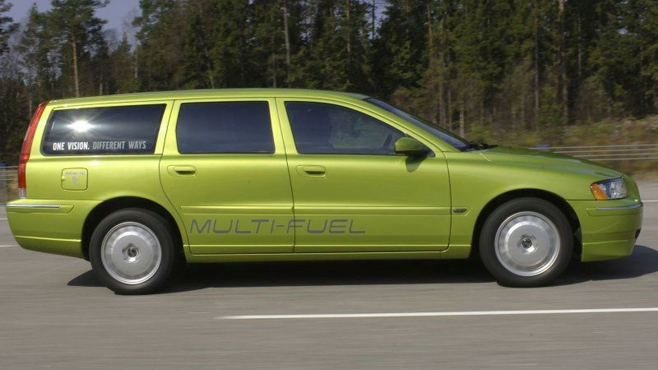 Volvo Multi-Fuel Vehicle Prototype