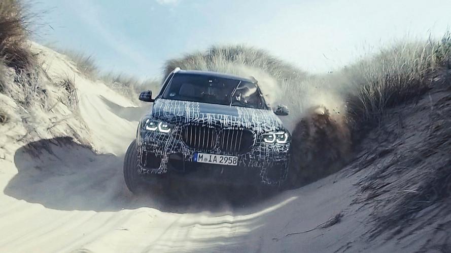 Nuova BMW X5, dal Nurburgring al deserto del Sud Africa, le foto