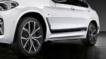 BMW X4 2018: accesorios BMW M Performance