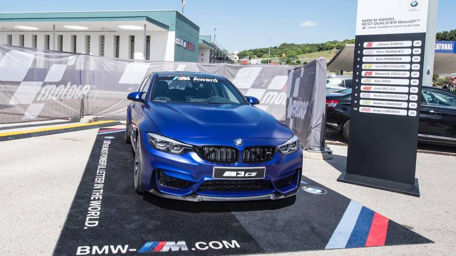 Egy BMW M3 CS-t kap a MotoGP 2018-as időmérőmenője