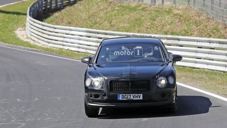 2019 Bentley Flying Spur spied at the Nurburgring