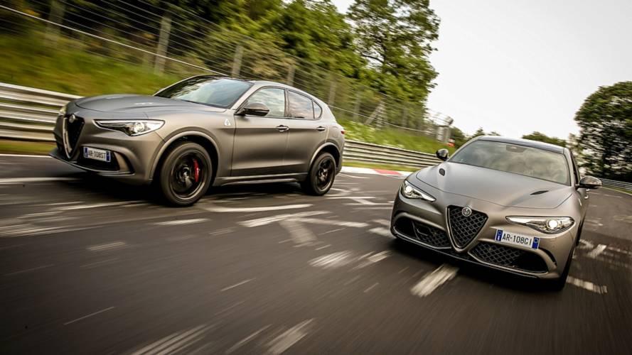 Alfa Romeo donne le prix des Giulia et Stelvio NRING