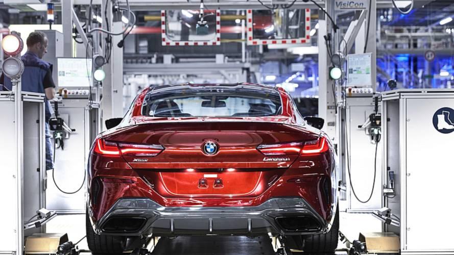 BMW Série 8 Coupé 2019 começa a ser produzido