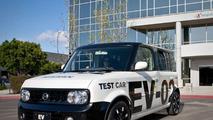 Nissan EV-02 Electric Vehicle Prototype in San Diego