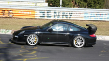 Porsche 911 GT3 RS facelift spy photos