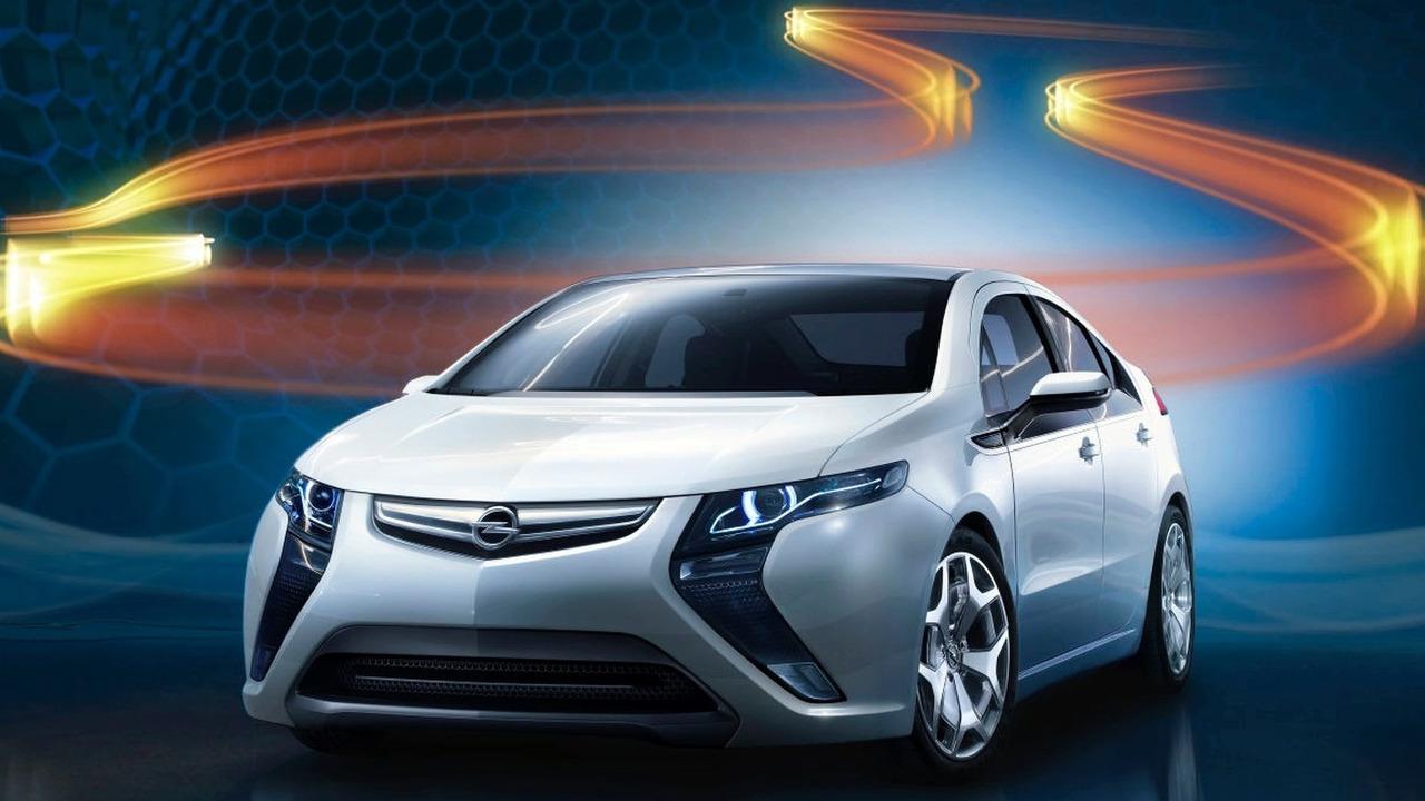 2011 Opel Ampera Geneva teaser 2009
