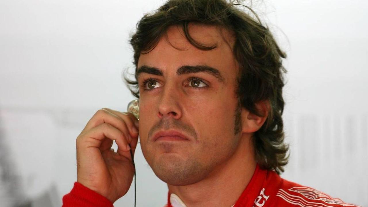 Fernando Alonso (ESP), Scuderia Ferrari, Malaysian Grand Prix, Friday Practice, 02.04.2010 Kuala Lumpur, Malaysia