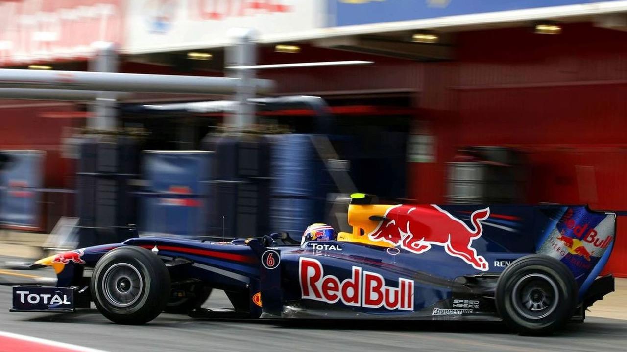 Mark Webber (AUS), Red Bull Racing - Formula 1 Testing, 25.02.2010, Barcelona, Spain