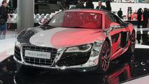 Audi R8 5.2 FSI quattro dressed in Chrome, IAA Frankfurt 2009