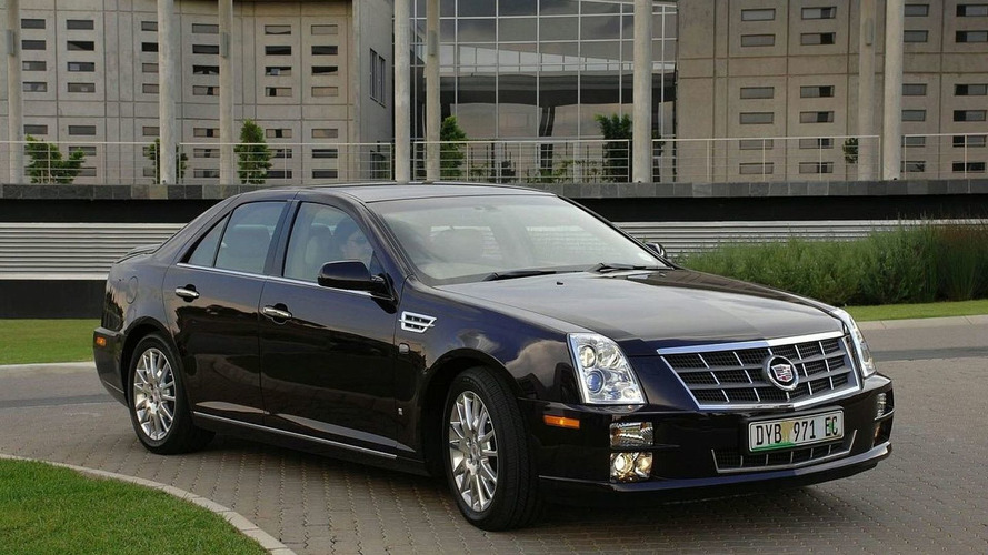 Cadillac STS Priced for South Africa