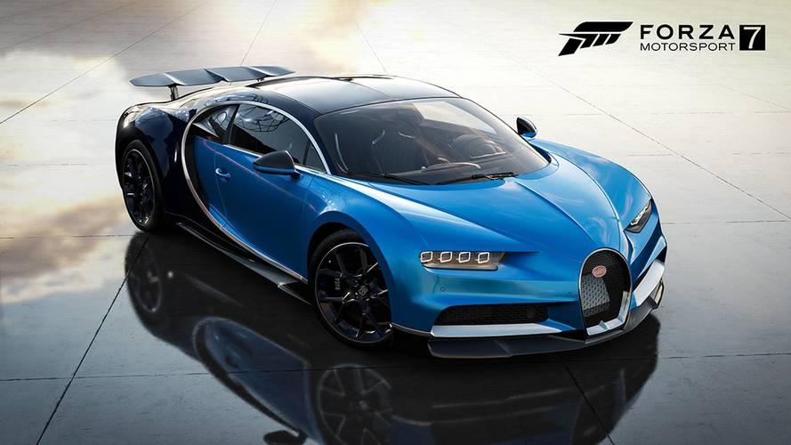 VIDÉO - La Bugatti Chiron disponible dans Forza Motorsport 7 !