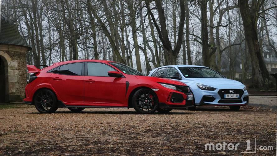 Honda Civic Type R vs Hyundai i30 N