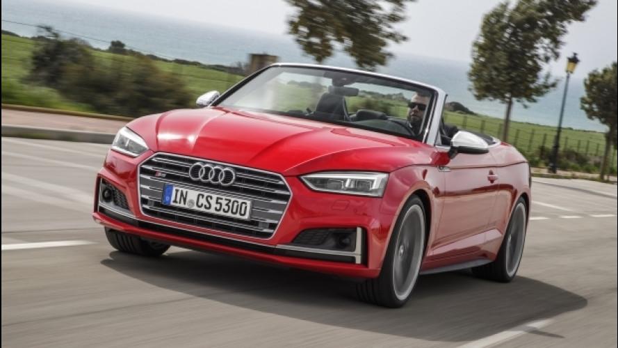 Audi A5/S5 cabrio, la bella e la sportiva