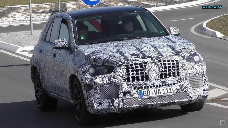 Photos espion - Les futurs Mercedes-AMG GLE 53 et 63 surpris