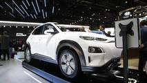 Hyundai Kona Electric at the 2018 Geneva Motor Show