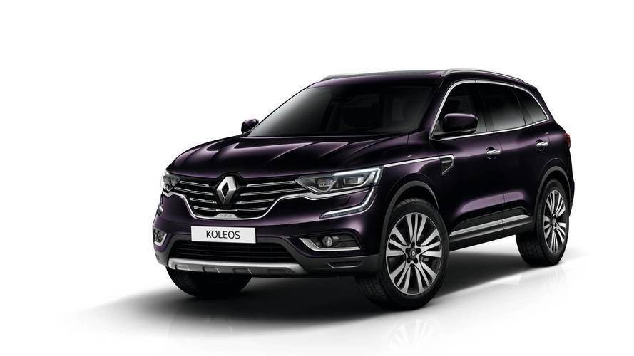 range topping renault koleos suv trim goes on sale. Black Bedroom Furniture Sets. Home Design Ideas