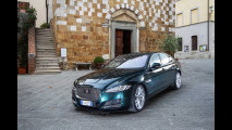 Drive in Italy | Val d'Orcia, Jaguar XF 011