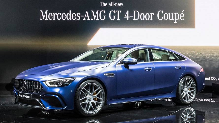 The four-door Mercedes-AMG GT is finally here