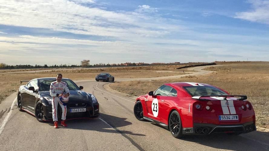 Marc Gené y el Nissan GT-R 2018, los más veloces en la pista del INTA