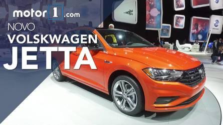 Vídeo - Novo VW Jetta 2019 em detalhes direto do Salão de Detroit