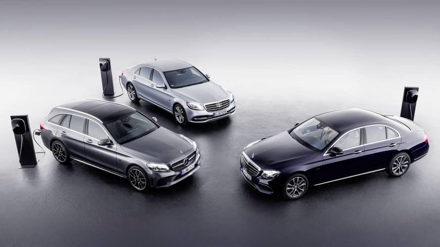 Mercedes scommette sul diesel ibrido plug-in