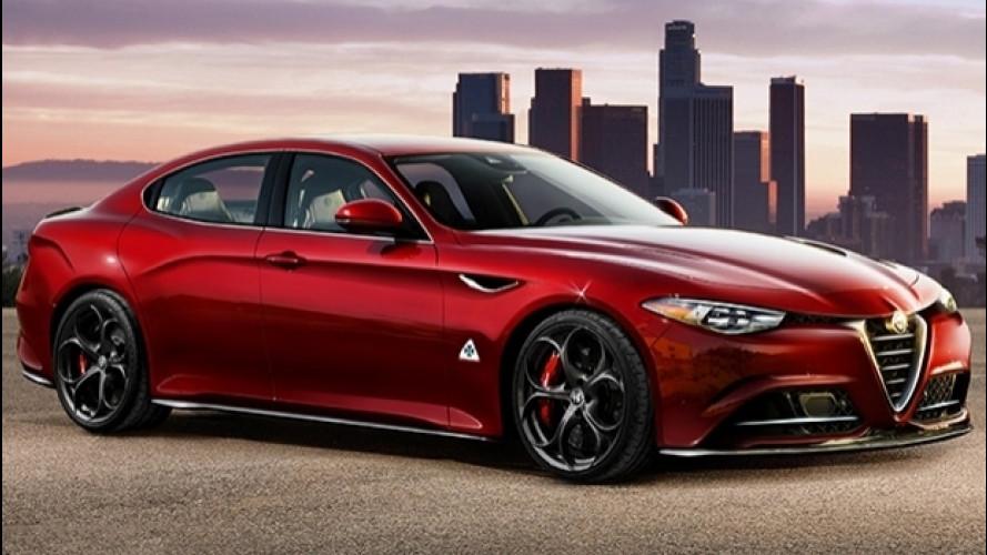 Alfa Romeo Alfetta, idee per la nuova ammiraglia
