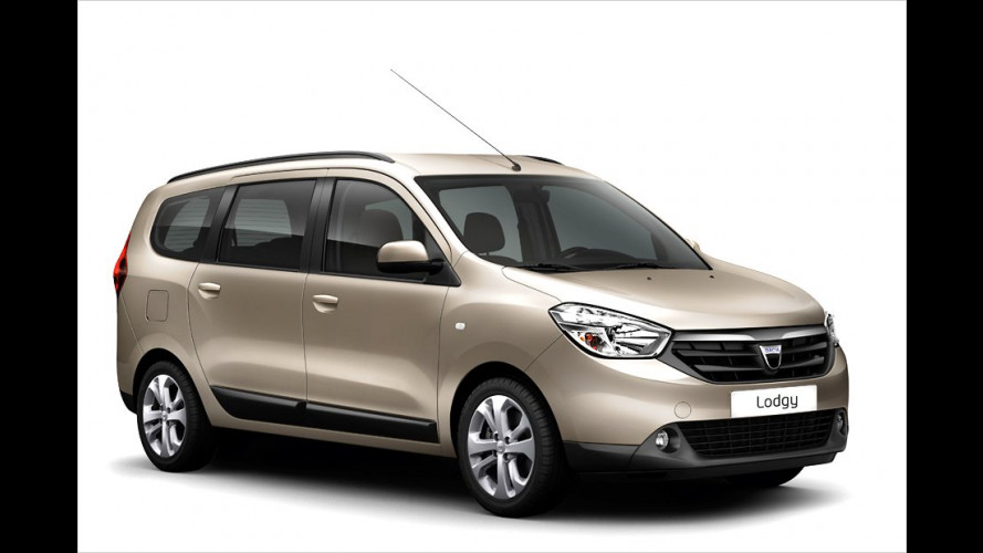 Dacia-Van Lodgy: So sieht das Serienmodell aus