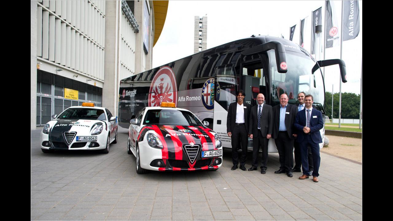 Eintracht Frankfurt: Alfa Romeo