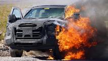 2016 Ford Super Duty prototype spy photo