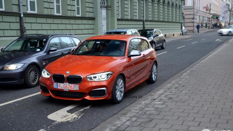 Facelifted BMW M135i spotted in the metal for the first time