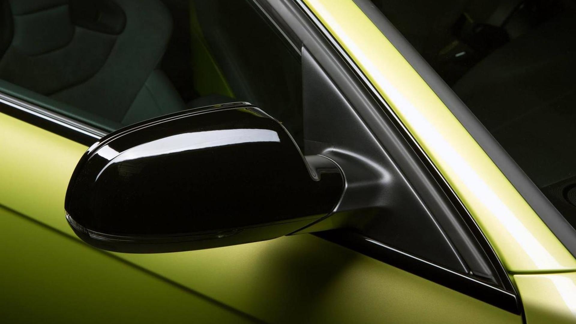 Чёрные зеркала Audi RS4 Avant от Audi Exclusive
