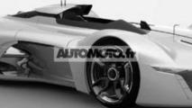 Renault Alpine Vision Gran Turismo concept leaked photo / automoto.fr