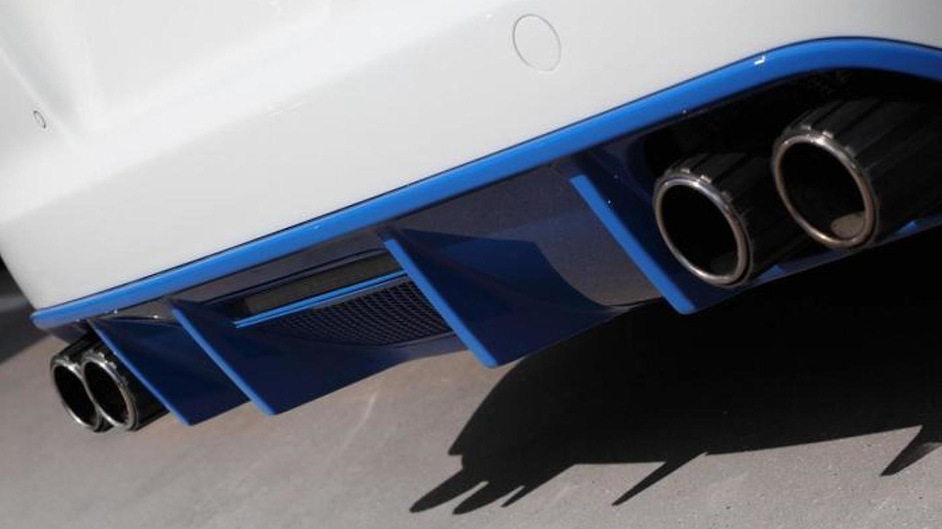 Диффузор Porsche Panamera от TopCar