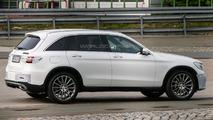 Mercedes GLC spy photo