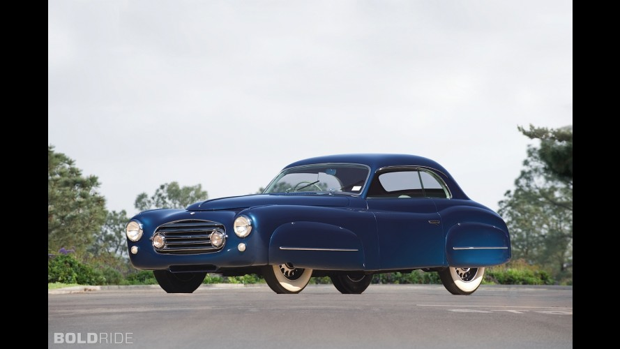 Delahaye 235M Pilarless Saloon by Ghia