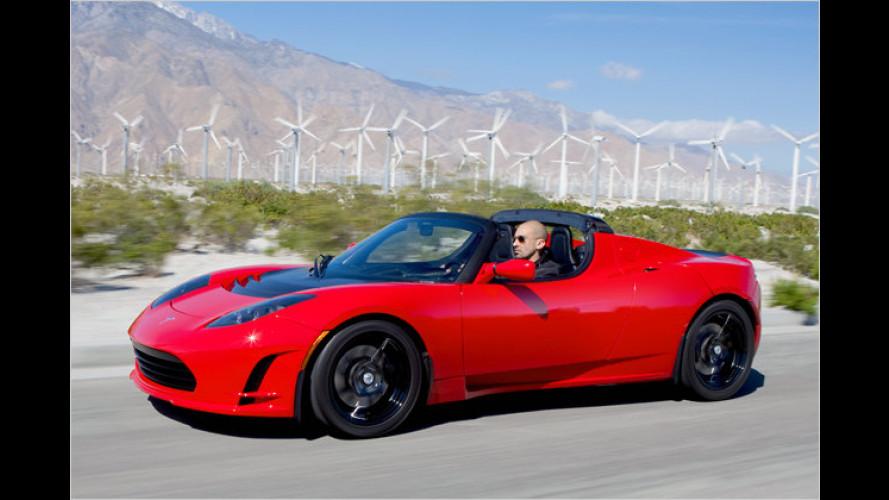 Feine Weiterentwicklung: Tesla Roadster 2.5