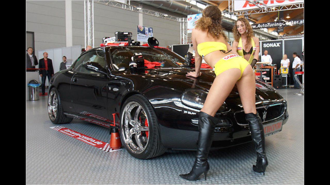 Gute Idee: Ich könnte meinen Maserati auch mal wieder waschen lassen