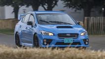 Subaru WRX STI at the Goodwood Festival of Speed
