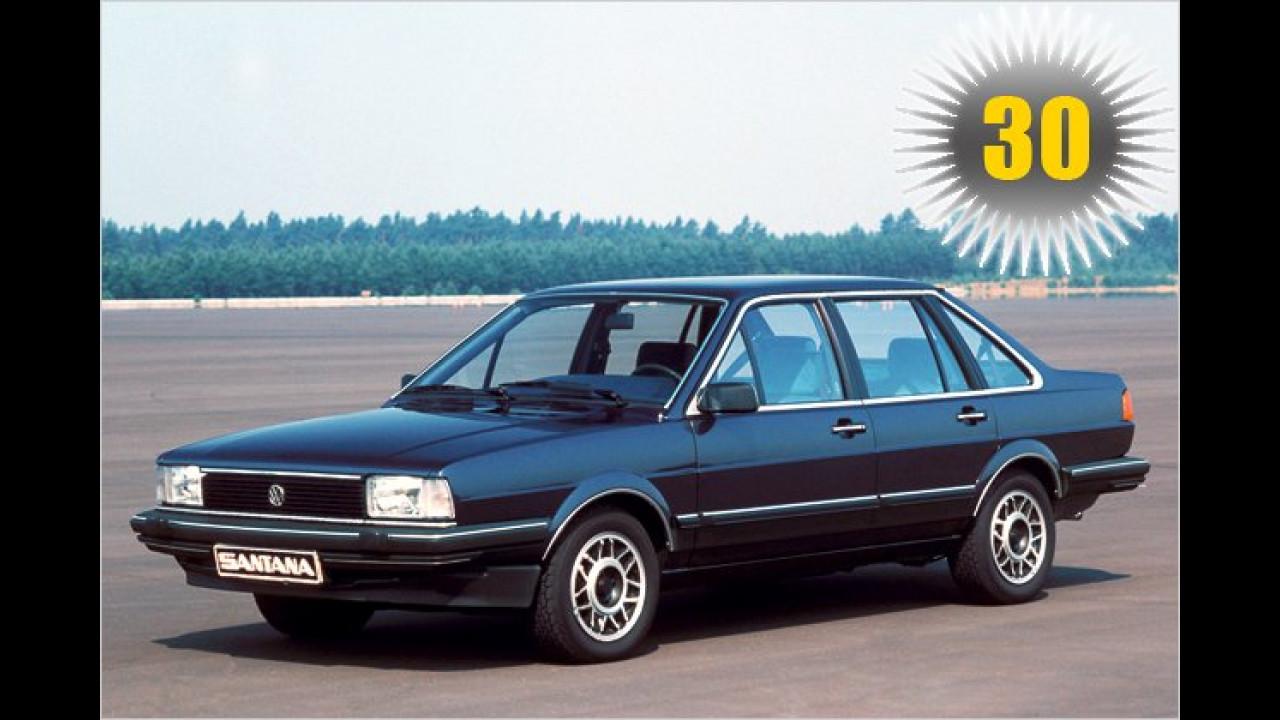 30 Jahre VW Santana