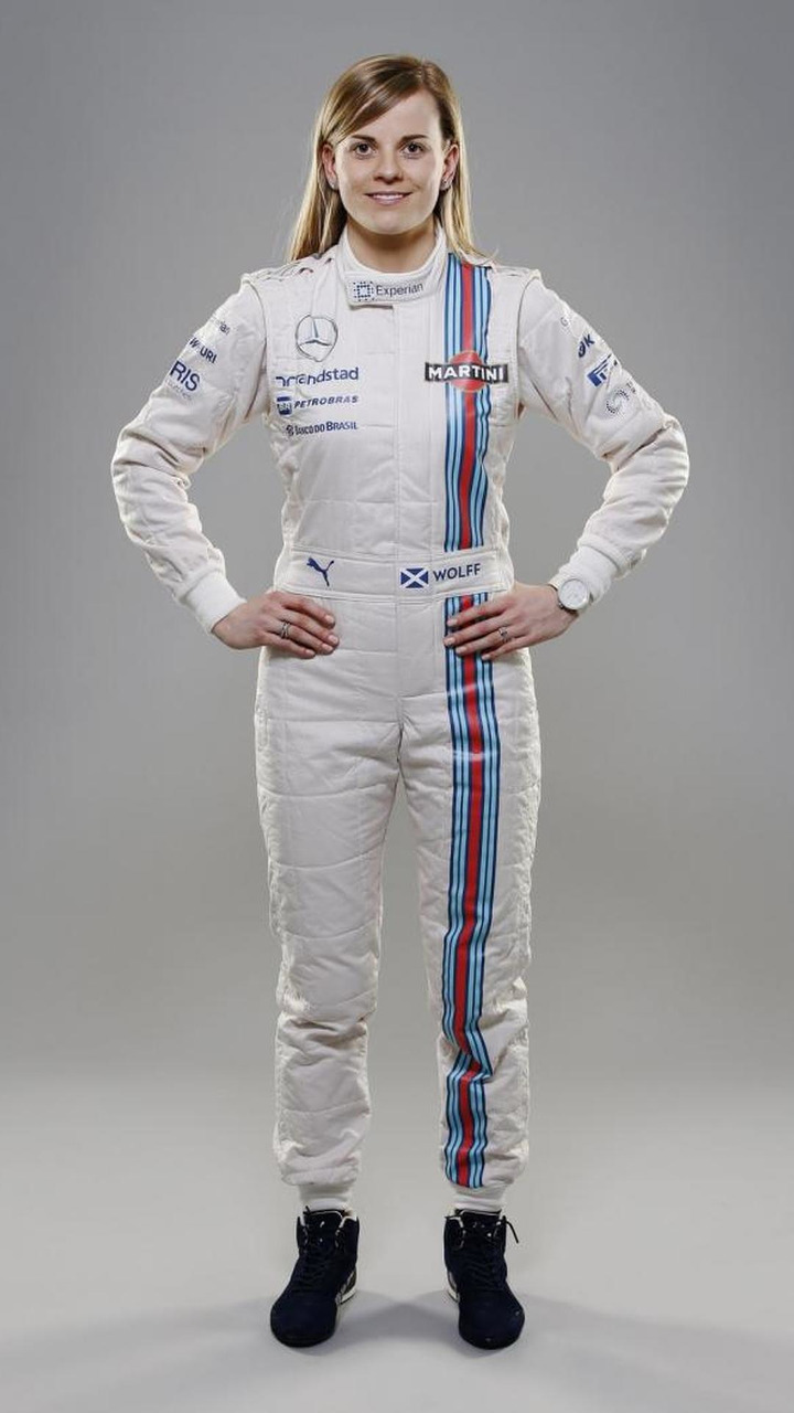 Susie Wolff Williams Martini Racing Launch